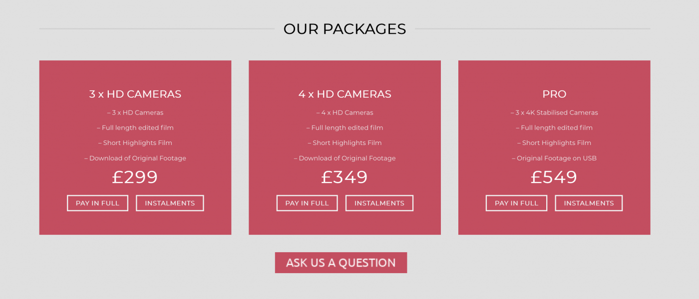 Shoot It Yourself Discount Code Packages