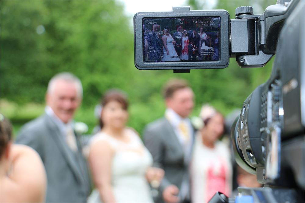 Why are wedding videos so expensive? A lot of team members are required to film a wedding properly.